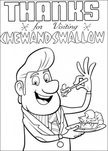 coloring page Regent meatballs (8)