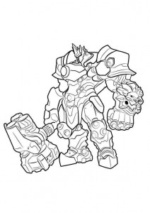 coloring page Reinhardt