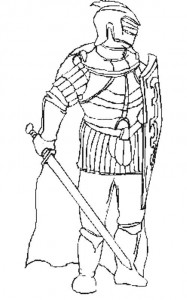 coloring page Knights (22)