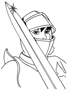 coloring page Knights (25)
