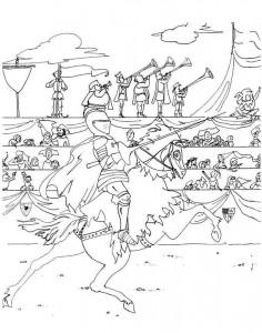 målarbok Riddare (3)