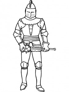 coloring page Knights (35)