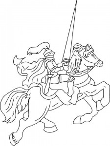 coloring page Knights (36)