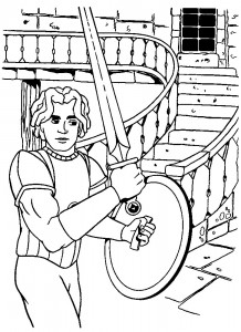 coloring page Knights (8)