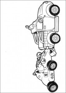 coloring page Roary the racing car (2)