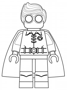 robin coloring page