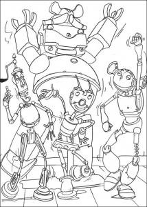 målarbok Roboter (12)