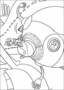 kleurplaat Robots (13)