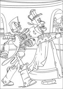 målarbok Roboter (3)