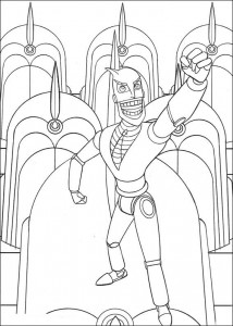 coloring page Robots (5)