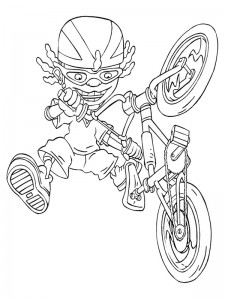coloring page Rocket Power (12)