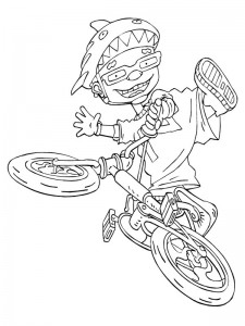 coloring page Rocket Power (13)