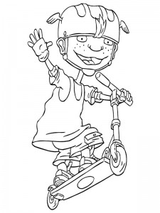 coloring page Rocket Power (15)