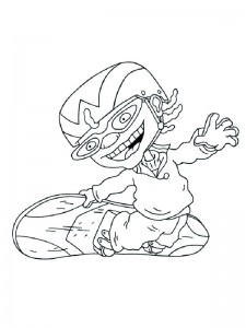 coloring page Rocket Power (16)