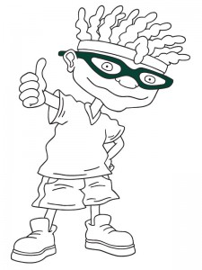 coloring page Rocket Power (2)