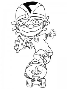 coloring page Rocket Power (20)