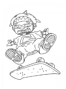 coloring page Rocket Power (21)