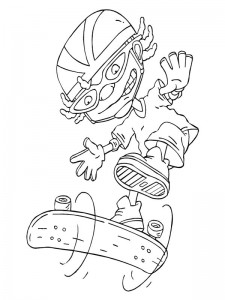 coloring page Rocket Power (23)