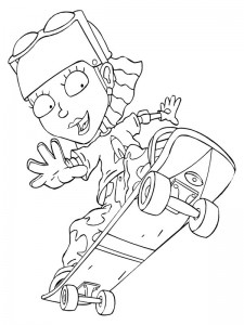 coloring page Rocket Power (25)