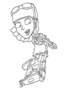 coloring page Rocket Power (26)