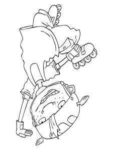 coloring page Rocket Power (27)