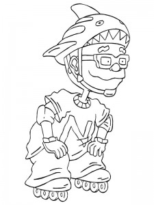 coloring page Rocket Power (29)