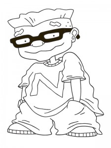coloring page Rocket Power (3)