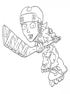 coloring page Rocket Power (31)