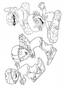 coloring page Rocket Power (32)