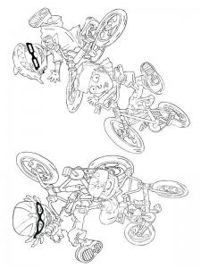 coloring page Rocket Power (35)