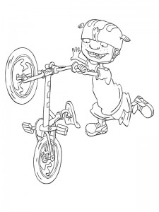 coloring page Rocket Power (36)