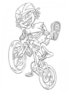 coloring page Rocket Power (37)