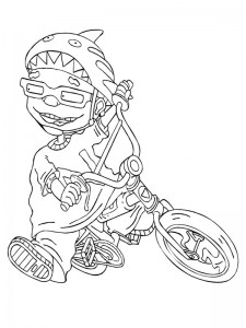 coloring page Rocket Power (39)
