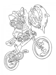 coloring page Rocket Power (40)