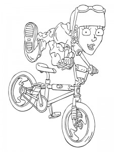 coloring page Rocket Power (41)