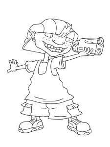 coloring page Rocket Power (42)