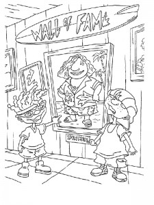 coloring page Rocket Power (43)