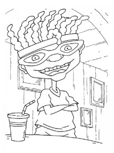 coloring page Rocket Power (45)