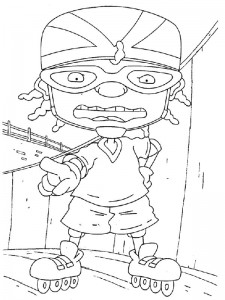 coloring page Rocket Power (48)