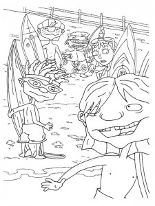 coloring page Rocket Power (49)
