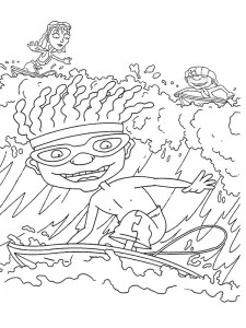 coloring page Rocket Power (50)