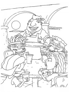 coloring page Rocket Power (51)