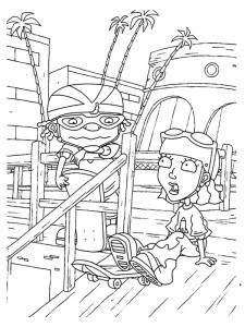 coloring page Rocket Power (52)
