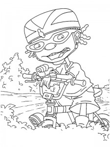 coloring page Rocket Power (53)
