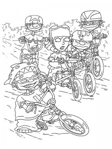 coloring page Rocket Power (54)