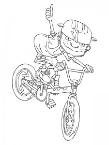 coloring page Rocket Power (55)