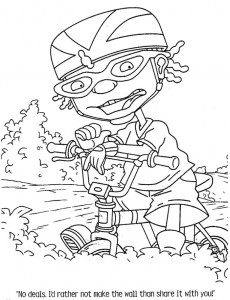 coloring page Rocket Power (59)