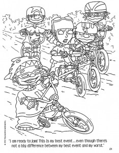coloring page Rocket Power (61)