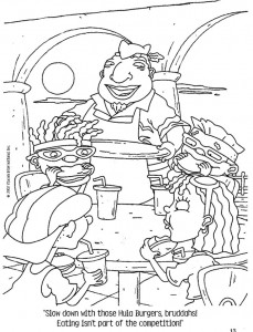 coloring page Rocket Power (63)