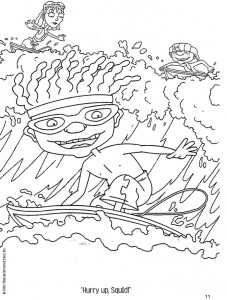 coloring page Rocket Power (65)